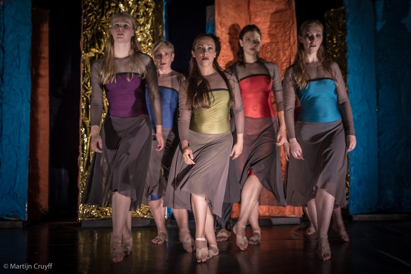 De dansonderneming, foto Martijn Cruyff